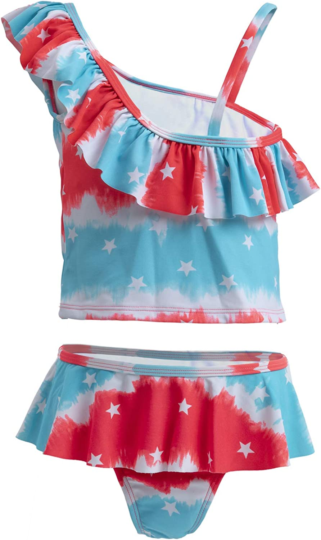 Free Shipping New Girls Two Piece Tankini Swimsuits Summer overseas Beach TAKINI Swimwear S