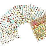 30 unids / set pegatinas de papel de aluminio de mariposa de colores 3D diseños de marca de flores calcomanías autoadhesivas manicura decoración de uñas-14-30 piezas