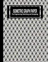 Isometric Graph Paper: For Engineering Sketching and Designing - White Math Cubes and Cubism