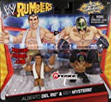 ALBERTO DEL RIO & REY MYSTERIO - WWE RUMBLERS TOY WRESTLING ACTION FIGURES by Mattel by Mattel...
