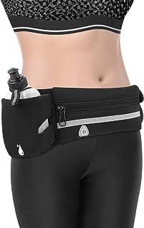 NCONCO al aire libre corriendo cintura bolsa impermeable jogging ciclismo teléfono contenedor Bum bolsa w/280 ml hervidor