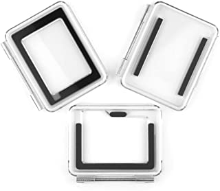 SOONSUN Backdoor Case Cover Kit for GoPro Hero 3+ Hero 4 Standard Housing Case (Standard Backdoor + Skeleton Backdoor + LCD Touch Backdoor) - Standard Size Backdoor