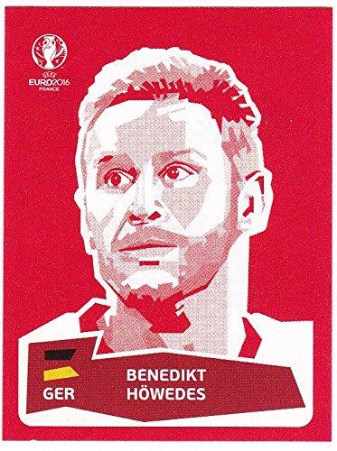 Panini UEFA EURO 2016 France - Benedikt Höwedes (Coca Cola Sticker)