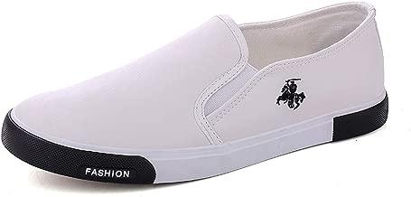gshd shoes Mens Breathable PU Slip On Men Fashion Flats Loafer