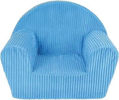 Fun House 712720 Fauteuil Club Bleu en Mousse pour Enfant, Housse Polyester, 100% POLYETHER, 52x33x42 cm