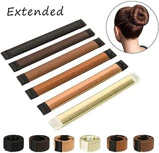 Hair Bun Shaper Set, Donut Bun Maker Hairstyle Clip DIY Doughnuts 1 Bag Hair Pin (muti-color)