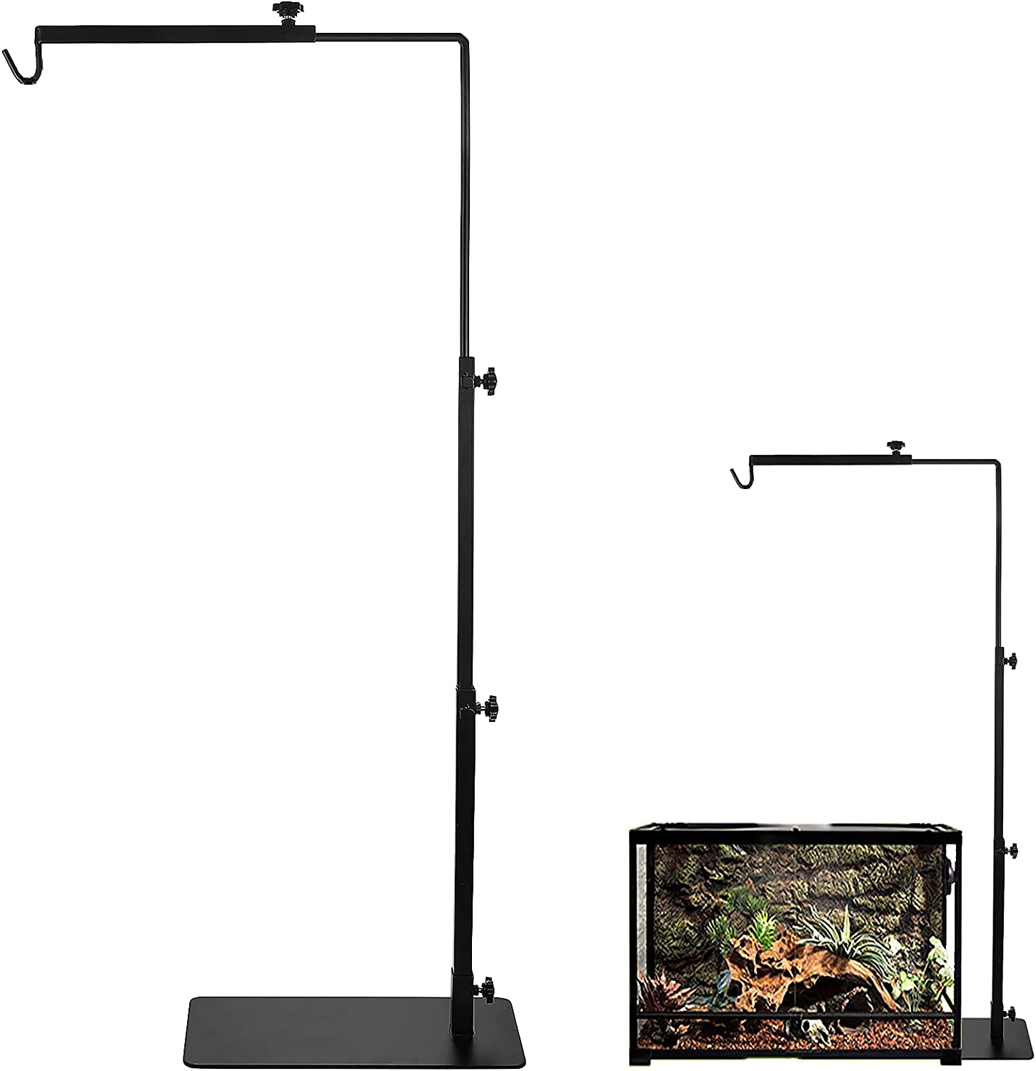Reptile Metal Lamp Popular shop is Safety and trust the lowest price challenge Stand for Terrarium - Adjustable L Plants