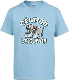 Camiseta Céltico Desde la Cuna Celta Vigo fútbol