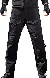 FREE SOLDIER Men's Outdoor Tactical Pants Ripstop Military Combat EDC Cargo Pants Lightweight Hiking Work Pants