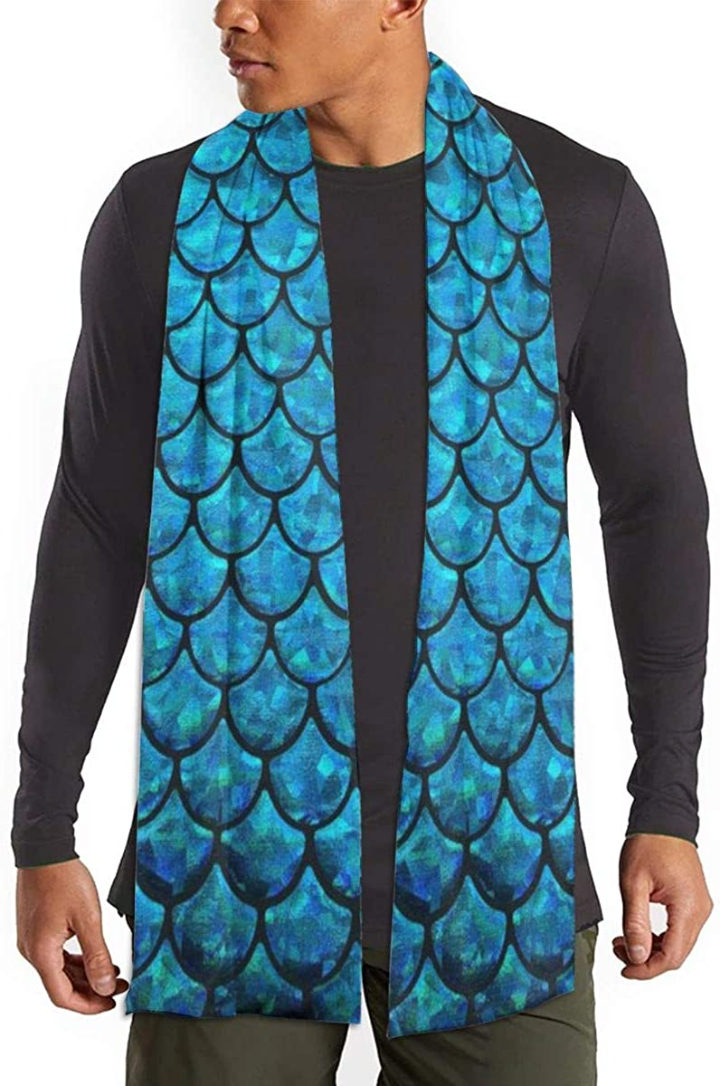 Women's Winter Multiple-Color Scarf(Mermaid Fish Scale)