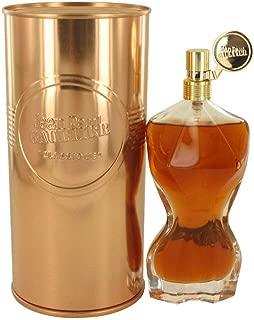 JEAN PAUL GAULTIER Classique Essence De Parfum Eau De Parfum Intense Natural Spray Full Size 100 mL / 3.4 FL.OZ. Factory Sealed. In Metal Jar. Made in Spain.