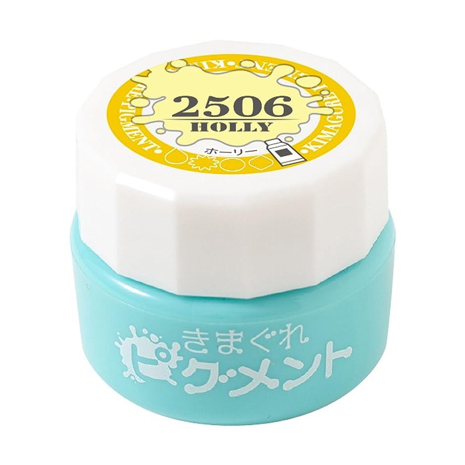 しっとり入手します洗剤Bettygel きまぐれピグメント ホーリー QYJ-2506 4g UV/LED対応