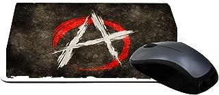 Rikki Knight Anarchy Grunge Flag Design Lightning Series Gaming Mouse Pad (MPSQ-RK-9105)
