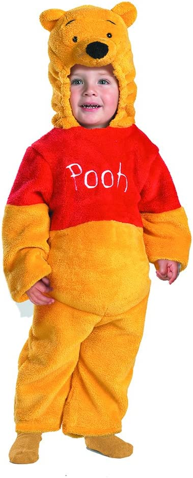 CHILD WINNIE THE POO  FANCY DRESS COSTUME HALLOWEEN AGE  2-3 BOY GIRL REDUCED