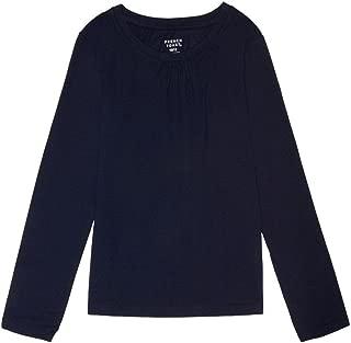 Girls' Long Sleeve Crew Neck Tee Shirt
