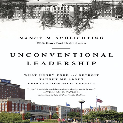 Unconventional Leadership audiobook cover art