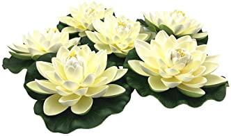 Artificial Floating Hyacinth Flower Pack Great Koi Pond Decor And Shading