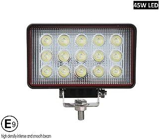 AB1 flexzon 8x 24W LED Work Light Oval Flood Driving Lamp Offroad Light Bar SUV Truck 4X4