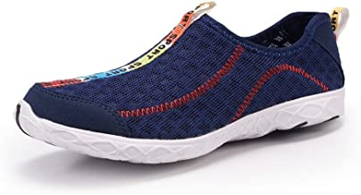 J.S.U-Shoes Men And Women Clogs Sandals Casual Single Mesh Breathable Men Sneakers Men Casual Shoes Brand Men Shoes Male Mesh Flats Plus Big Size Loafers Breathable