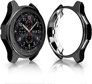 Case for Samsung Gear S3 Frontier SM-R760, Haojavo Soft TPU Plated Protective Bumper Shell Protector for Samsung Gear S3 Frontier/Classical & Galaxy Watch 46mm Smartwatch Bands Accessories