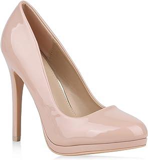 c9b22f232ac61c Amazon.fr : Escarpins Couleur Chair : Chaussures et Sacs