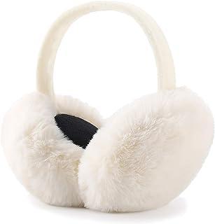 گوشهای زمستانی گوشهای پلاستیکی Faux Fur Warm Earfuffs گرمکن گوش در فضای باز قابل جمع شدن برای دختران زن