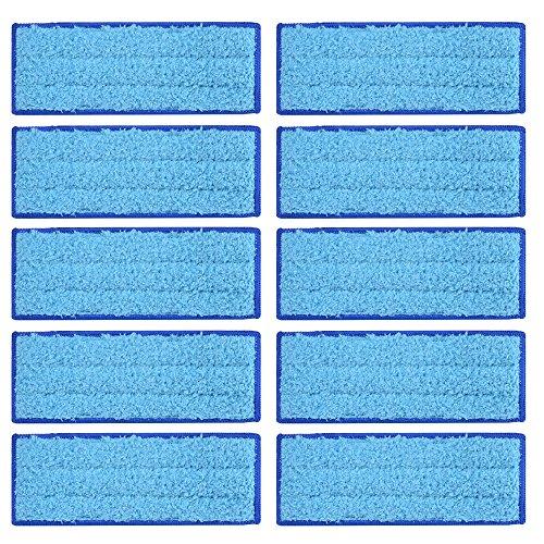 Kreema 10Pcs microfibra pano mojado almohadillas