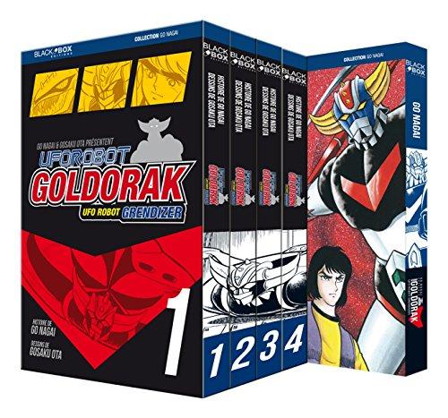 Goldorak - Volumes 1 à 5 + artbook super Robot files offert (dédicacé par l'auteur)