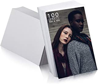 Edian Matte Photo Paper 4x6 Inches RC Photo Paper, Waterproof, 265gsm