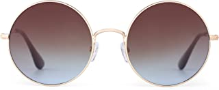 Retro Round Flash Sunglasses Reflective Circle Lens Alloy Eyeglasses Men Women