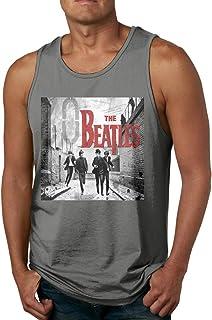 メンズ タンクトップ The Beatles サマースポーツとフィットネス トップス
