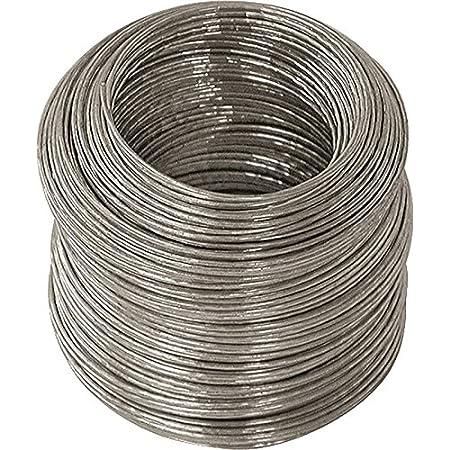 100 Feet 2 PK Galvanized Steel Wire 28 Gauge
