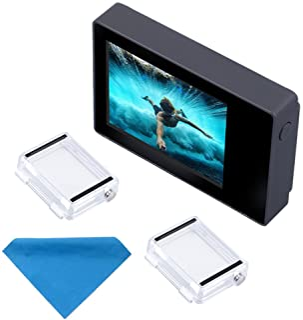 Pantalla LCD de 2 pulgadas para GoPro Hero 4 3+ 3 y 2 de SupTig no táctilcon funda impermeable