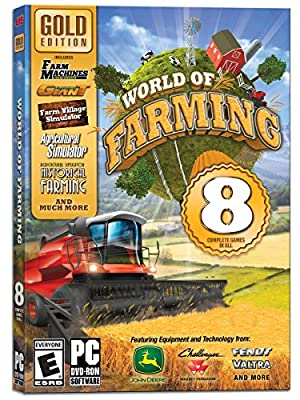 World of Farming: Gold Edition - 8 Complete Games in All by Avanquest