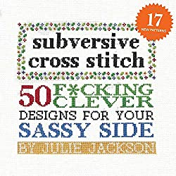 Get your copy of Subversive Cross Stitch from our Amazon store!