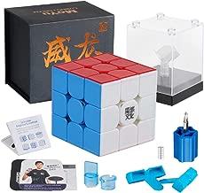 D-FantiX Moyu Weilong GTS3 M 3x3 Speed Cube Stickerless Moyu Weilong GTS V3 M 3x3x3 Magnetic Cube Puzzle GTS 3m