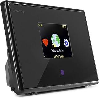 Bluetooth Adapter met Internet Radio - Audizio Turin - Met Wifi/LAN en afstandsbediening - Upgrade jouw stereo set met de ...