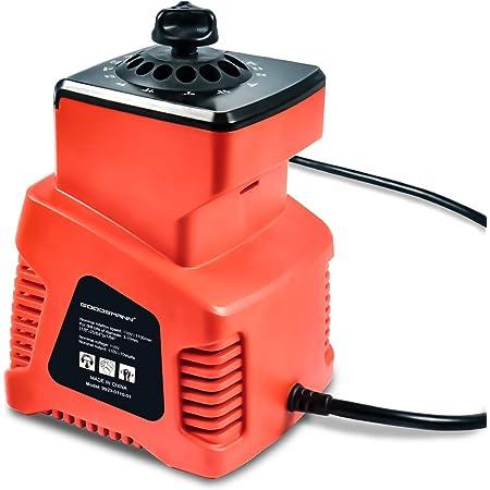 """GOODSMANN Electric Drill Bit Sharpener, Heads 1/8"""" - 25/64"""", 1350 RPM/ 1700 RPM 9923-0110-01"""