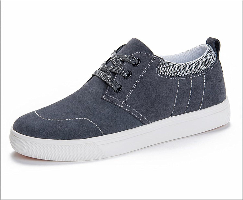 WLJSLLZYQ Mens Sports shoes Flat shoes Suede Summer shoes