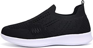 Geilisungren Frauen Sneaker Mesh Flache Schuhe Damen Beiläufige Sportschuhe Leicht Atmungsaktive Schuhen Sommer Herbst Tur...