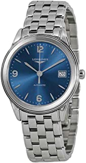 Longines L47744966 Flagship Heritage Automatic Mens Watch - Blue Dial