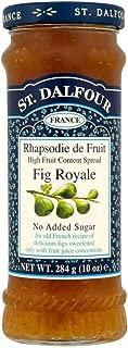 St. Dalfour Rhapsodie de Fruit Fig Royale 砂糖を加えていない イチジクジャム (284g)