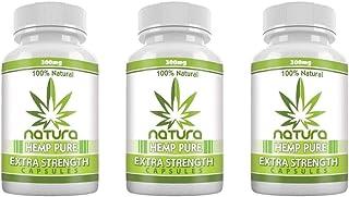 QFL Hemp Oil Capsules for Pain, Anxiety & Stress Relief - 900mg - 100% Organic Hemp Extract - Natural Anti-Inflammatory, J...