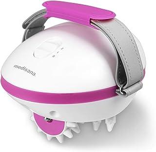 Medisana AC 850 Masajeador para celulitis para una piel más firme, auto-masaje con 6 rodillos de masaje rotativos y 2 inte...