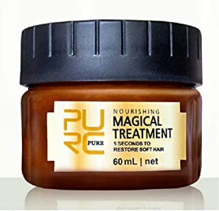 Advanced Molecular Hair Roots Treatment Professtional Hair Conditioner,PURC Magical Hair Mask,5 Seconds to Repair Damaged Hair,Deep Conditioner Suitable for Dry & Damaged Hair-60ML