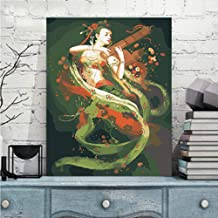 Painting by Numbers for Adults Kids DIY Canvas Painting Kit for Beginners Dunhuang Murals 16×20