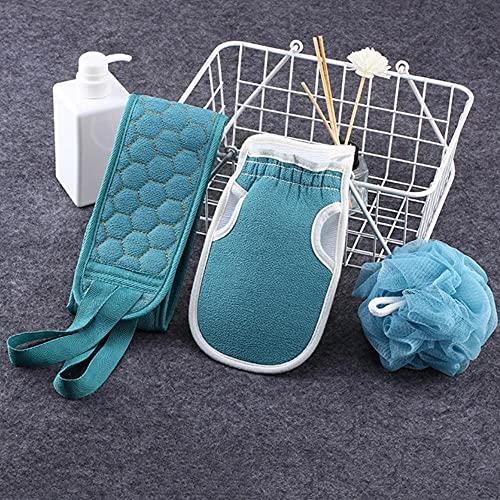 ENOSTORE 1 Unidades Toallas de Baño Hogar Suministro de Baño Toallita Frote Bola Tira de Volver Rub Cinturón de Baño Toalla de Baño para el Hogar Baño