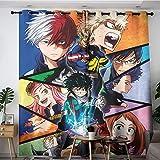 My Hero Academia Cartoon (3) Bedroom Curtains Anime Curtains 42