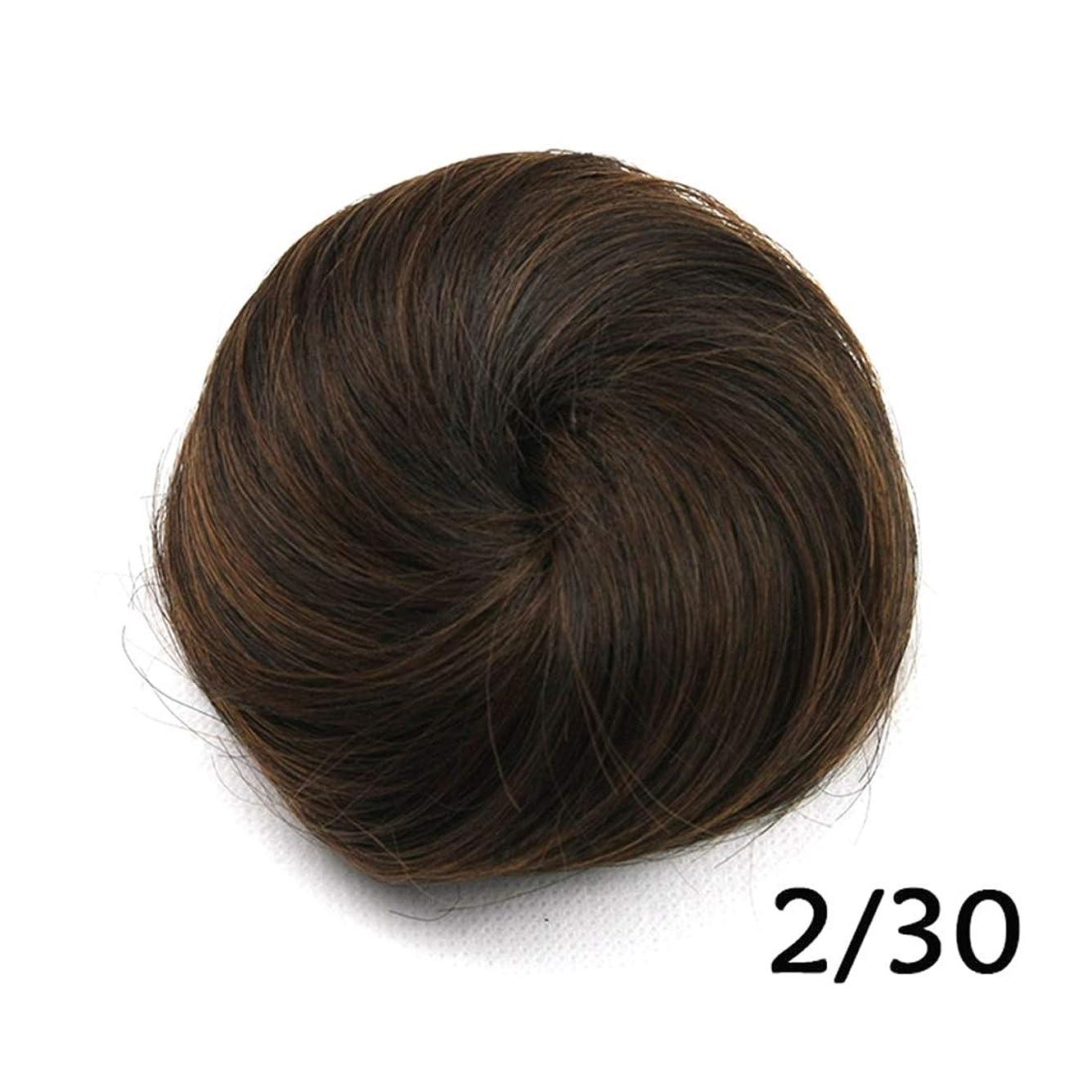 ナイトスポット擬人着替えるKoloeplf メッシーフラワースカル高温シルクミートボールヘッドヘアピース女性のヘアバンド (Color : Color 2/30)