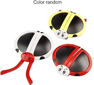7b7c141b7a Dailyinshop Linda Moda Plegable Mariquita Deformidad Gafas de Sol  Rompecabezas Juguete Juguetes para bebés (Color